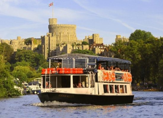 Maidenhead to Windsor by Boat